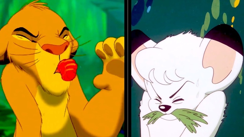 Kimba The Lion King How Similar Are They 「ジャングル大帝」と「ライオン・キング」