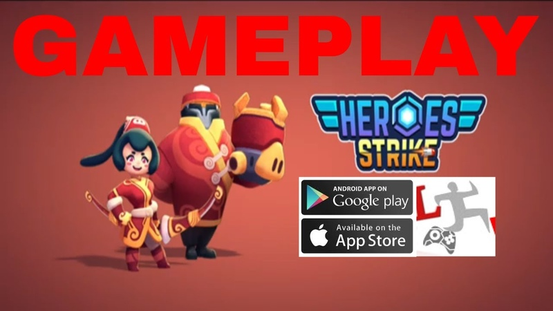 Heroes Strike - 3v3 Moba Brawl Shooting IOS-Android-Review-Gameplay-Walkthrough-Part 1