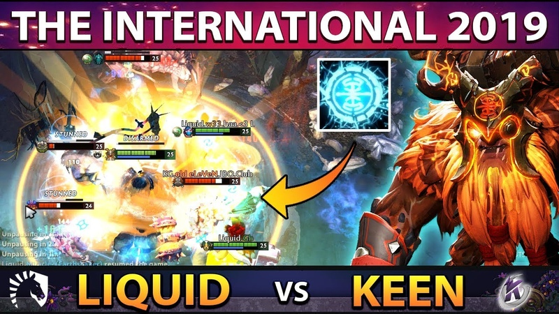 LIQUID vs KEEN - Miracle Carry Earthshaker Player Perspective - EPIC 7,5k DMG Wombo Combo TI9 DOTA 2