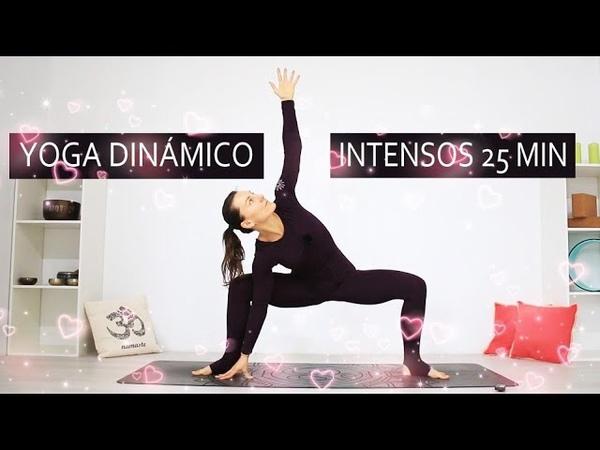 Yoga dinamico 25 min todo cuerpo intenso | MalovaElena