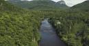 Riding Rock Rolls Waterfalls in Québec City