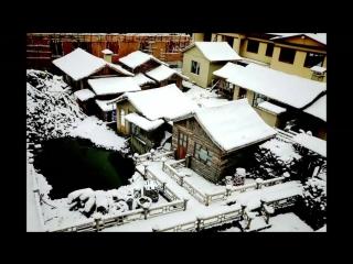Первый снег выпал в провинции Хэйлунцзян на границе с Россией