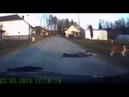 Dog drags man across the street
