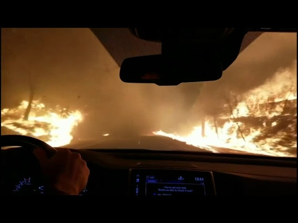 Residents flee Northern California wildfire