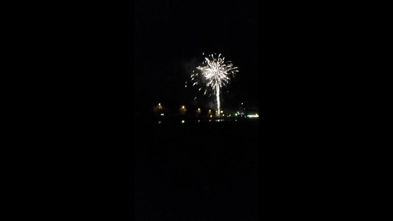 Firework fishing village