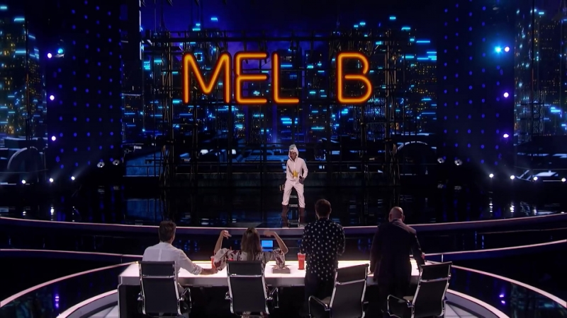 Samuel Comroe Judges Mel B As She Fails Epically At Stand Up Comedy Americas Got Talent 2018