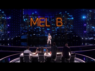 Samuel Comroe Judges Mel B As She Fails Epically At Stand-Up Comedy - Americas Got Talent 2018