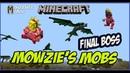 Minecraft Mowzie's Mobs mod 1.12.2 Барако Босс / Minecraft мод Mowzie's Mobs Barako, the Sun Chief