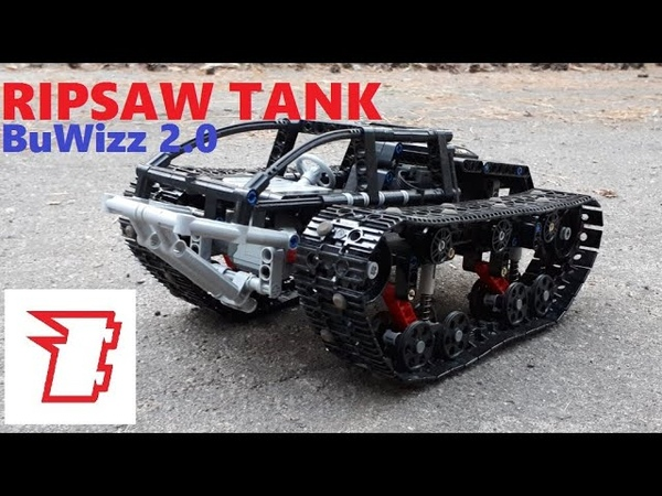 Lego Ripsaw tank