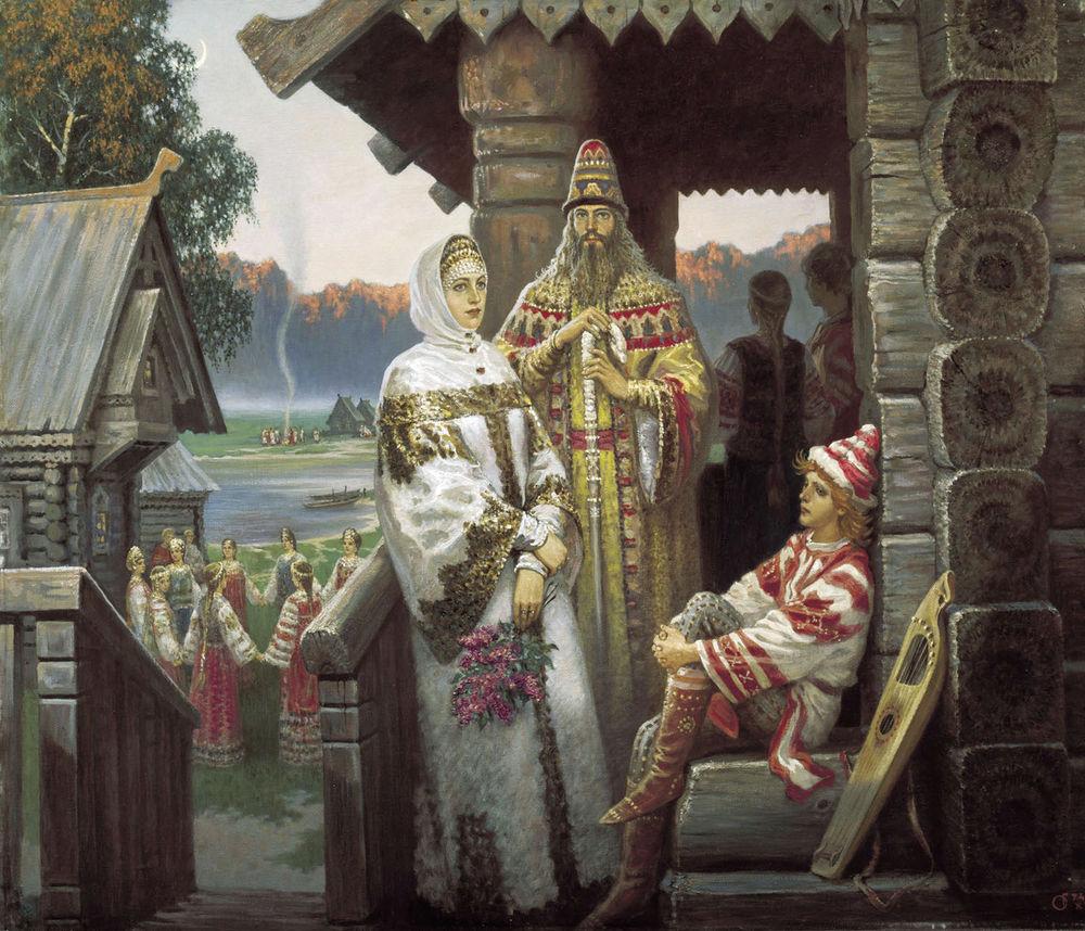 """Борис Ольшанский, """"Берендеи""""."""