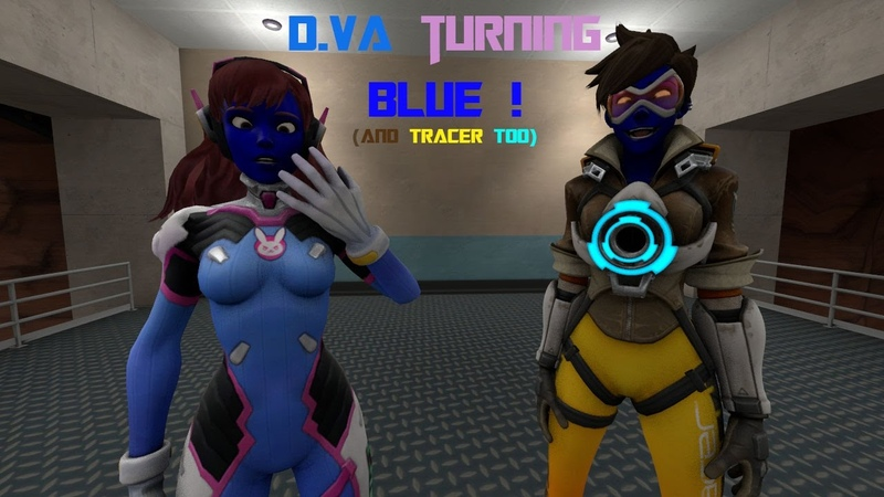 SFM turning blue and Tracer too