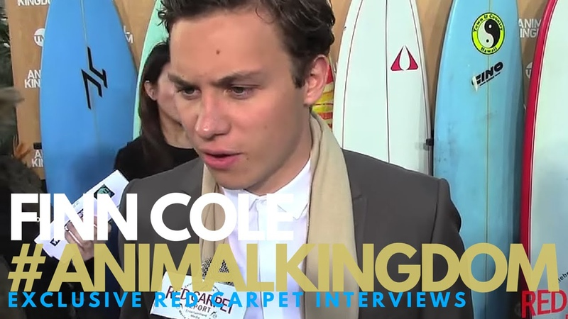 Finn Cole interviewed at TNT's Animal Kingdom Premiere Event AnimalKingdom