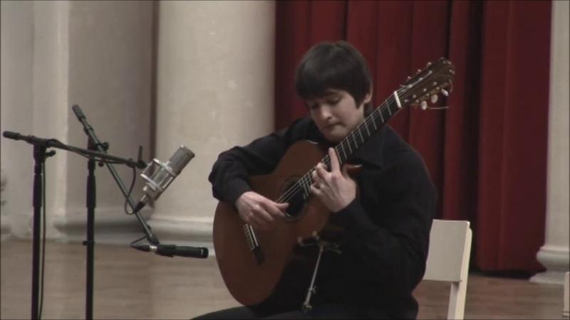 A.Barrios - Un Sueño en la Floresta, guitar - Konstantin Okudzhava