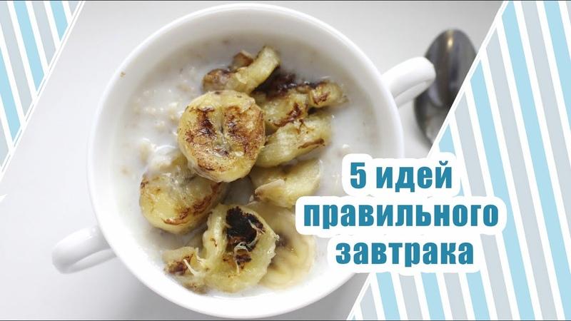 Что приготовить на завтрак ? ПЯТЬ ИДЕЙ ДЛЯ ЗАВТРАКА - Alisa Zaharova