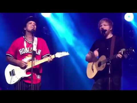 Ed Sheeran - Thinking Out Loud Ft. Bruno Mars (In Live)