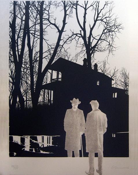 Олег Владимирович Васильев (4 ноября 1931-2013) После МСХШ с незабываемыми летними практиками в Поленово пути к отступлению уже было — буду художником. Я самозабвенно писал этюды. Вставал рано