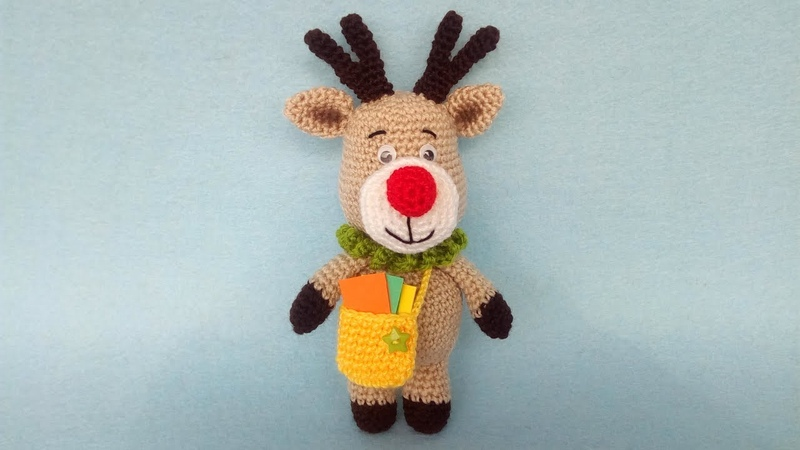 Renna Amigurumi Tutorial - Reindeer Moose Crochet - Reno Crochet Amigurumi