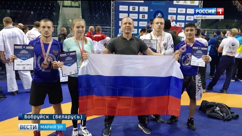 Спортсмены из Марий Эл стали призёрами Чемпионата мира по панкратиону