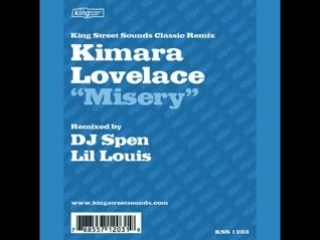 kimara lovelace  ★  misery  ★  lil louis extended club mix