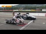Топ 5 случаев безумного drag racing | Unbelievable Crazy Drag Races