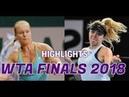 Elina Svitolina vs Kiki Bertens - Highlights WTA SINGAPORE FINALS 2018