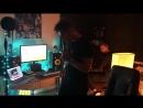 Алексей Воробьёв: Аранжировка песни «Сумасшедшая» за 2 минуты. Это была первая репетиция с использованием «лупера» так что получ