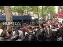 LIVE Anti government protesters gather in Paris on Bastille Day