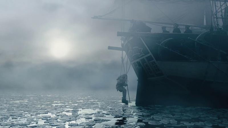 The Terror TV Series (AMC) - Underwater Scene (S01E01)