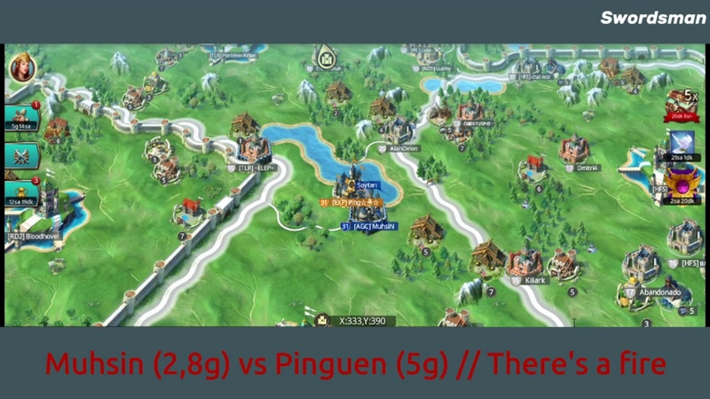 March Of Empires R135 Muhsin 2 8g vs Ping 5g housewife