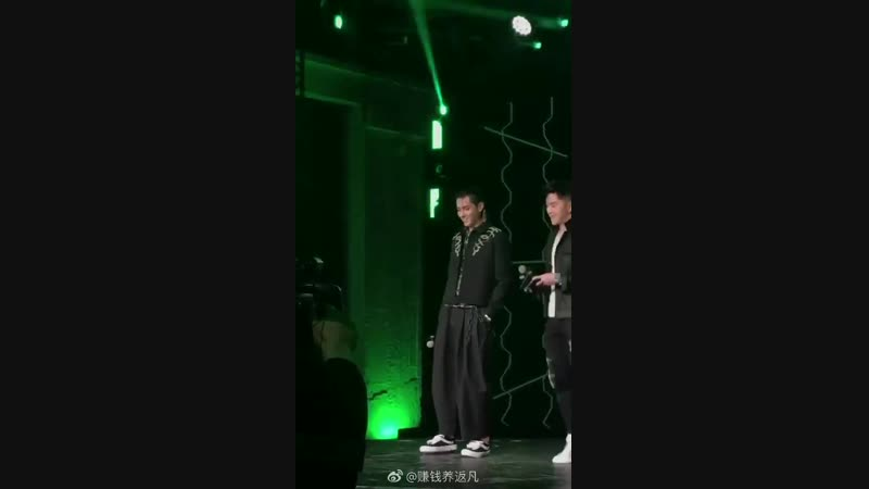 190201 Wu Yi Fan @ L'Oreal Men Expert Black Magic Party in Shanghai