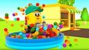 Учим фрукты для детей - Мультики про машинки для малышей Магазин Грузика