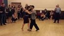 Tango vals Special workshop with Juan Martin Carrara Stefania Colina 13 04 2016