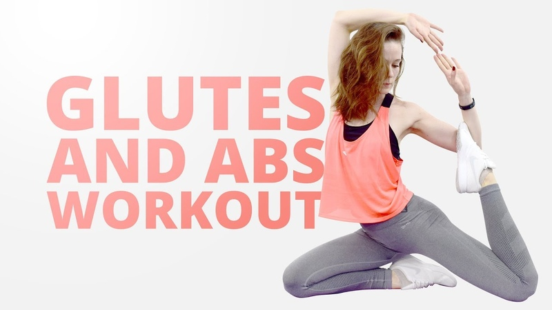 2 in 1 Glutes and Abs workout 2 в 1 Тренировка на ягодицы и пресс About fit