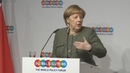 WELT DOKUMENT Angela Merkel präsentiert ihre Ideen für eine bessere Welt