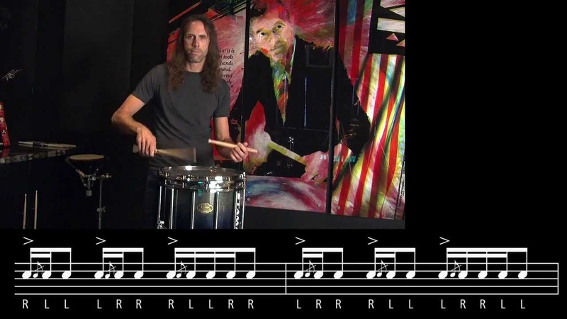 Hybrid Rudiment: Inverted Inverted Flam Five by Roger Carter