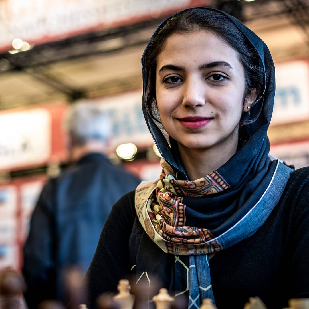 Сильнейшая иранская шахматистка Сара Хадем