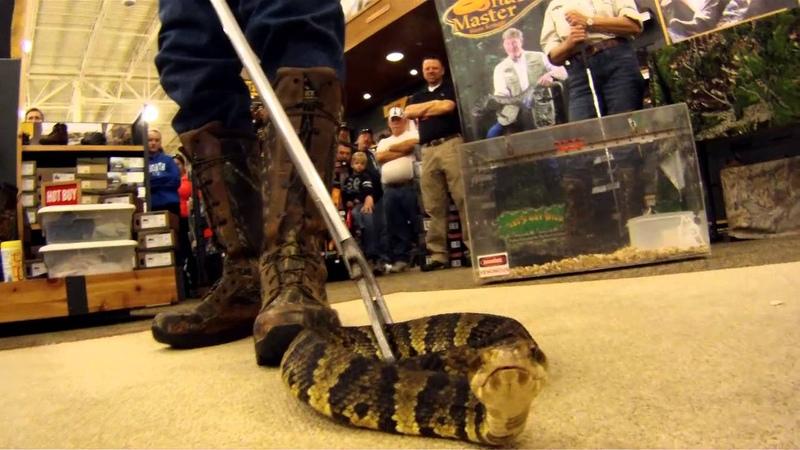 Укротитель змей презентует сапоги Rocky Snake Boot