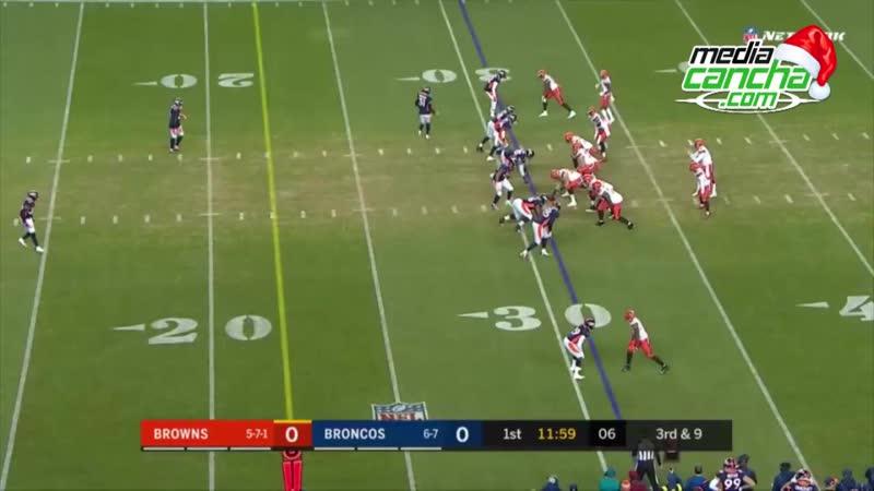 Cafés vence a domicilio 17-16 a Broncos en Semana 15 de la NFL