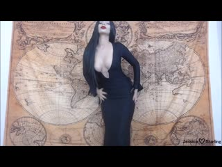 [mаnуvids] jеssiса stаrling - morticia fingers and fucks to poe (1080p) [amateur, brunette, hd, russain, 2018]