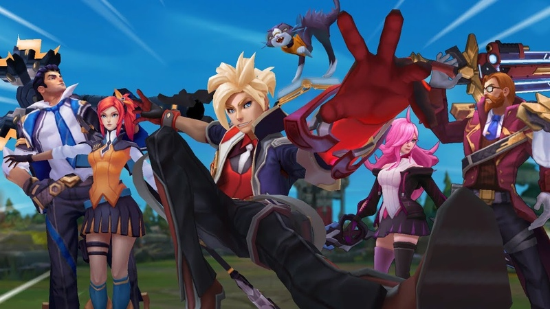 What the Battle Academia Skin Trailer could have looked like