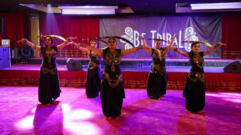 Ghytias Tribal Bellydance y Troupe Loba Loba - Tendi, Círculo de Clanes - Be Tribal Bellydance 2018