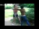 Liveleak - White girl fights Black girl