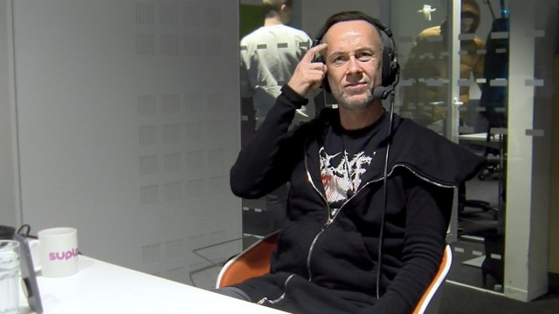 Nergal on Radio Rock Finland