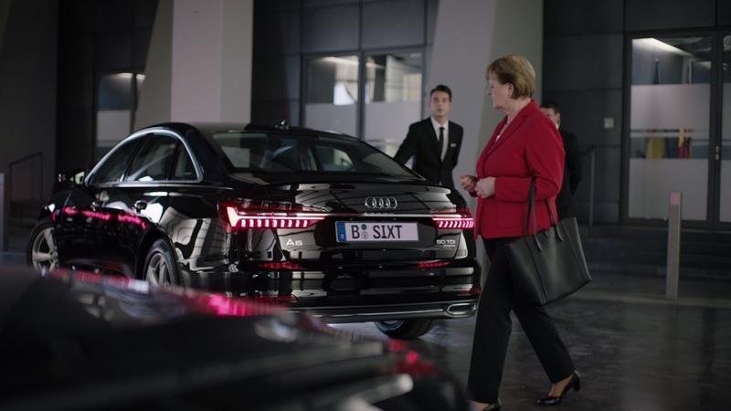 Sixt - Merkel Spot   Den will jeder selbst fahren Der neue Audi A6