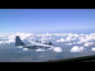 Flight along the Russian western border. Наш первый полет вдоль русской западной границы и мы увидели двух русских.