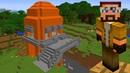Minecraft ПРО построил дом ЛАВА над пропастью / Ros Play / 2