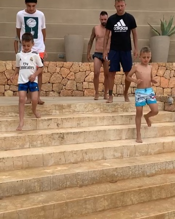 """Danny Gomes on Instagram Happy to return in Champions League Ibiza 🤣🤣"""""""