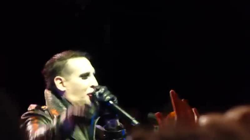 The Smashing Pumpkins w Marilyn Manson- Ava Adore - London Koko 5th December 201