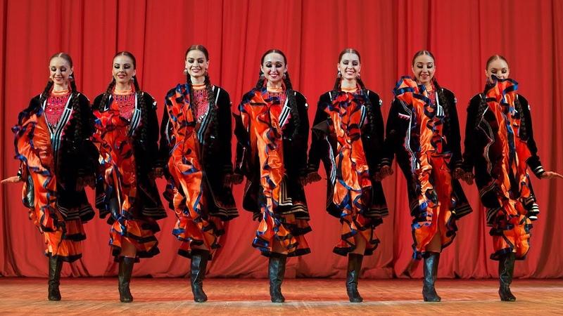 Башкирский танец Семь красавиц. Балет Игоря Моисеева.
