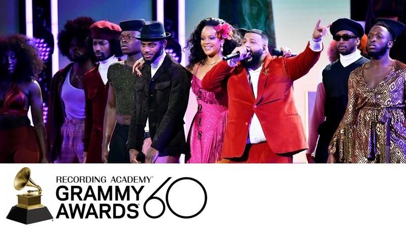 DJ Khaled / Rihanna / Bryson Tiller - Wild Thoughts (Grammy Awards Live Performance)